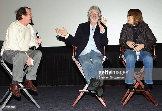 Film Historian/Moderator Pete Hammond Producer/Director Charles Shyer and Producer Elaine Pope answer questions from the audience during the Q A...