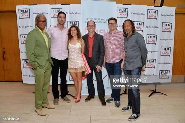 Film Independent at LACMA Film Curator Elvis Mitchell and filmmakers Joshua Izenberg Paula Schargorodsky Jason SpingarnKoff Brett Weiner and Orlando...