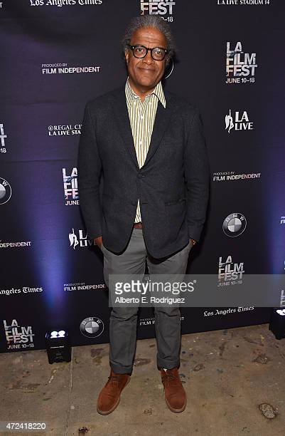Film Independent Curator Elvis Mitchell attends The Film Independent Hosts LA Night at The Underground Museum on May 6 2015 in Los Angeles California