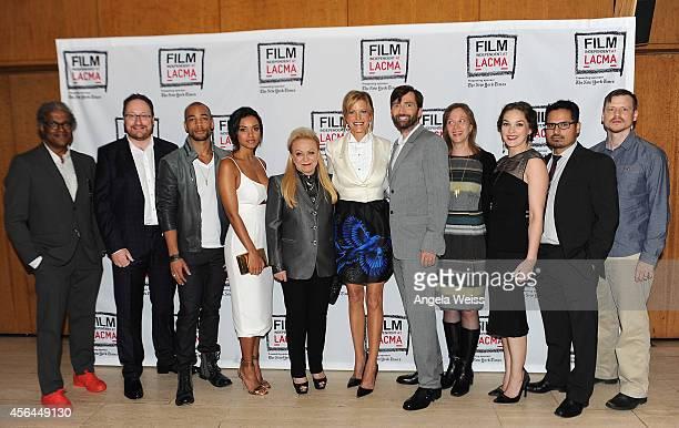 Film Independent curator Elvis Mitchell executive producer Chris Chibnall actors Kenrick Sampson Jessica Lucas Jacki Weaver Anna Gunn David Tennant...