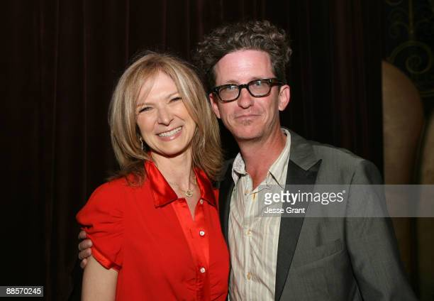 Film Independent Executive Director Dawn Hudson and writer/director Kieran Mulroney attend the 2009 Los Angeles Film Festival's Opening Night...