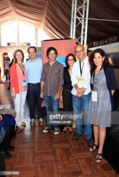 Film Independent executive director Dawn Hudson, producers Michael Costigan, Brendan McFadden, Lesley Chilcott, Los Angeles Times entertainment...