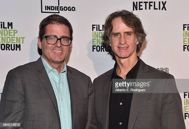 Film Independent President Josh Welsh and director Jay Roach attend the 11th Annual Film Independent Forum Opening Night screening of 'Trumbo' at DGA...