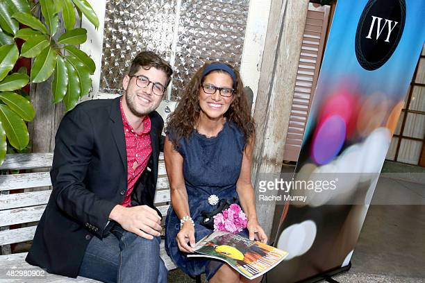 Film Innovator Award finalist Luke KellyClyne and his guest attend the IVY Film Innovator Awards presented by Cadillac on August 4 2015 in Los...