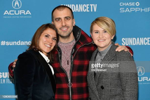 Film Inspiration Brittany O'Neill director Paul Downs Colaizzo and actor and commedian Jillian Bell attend the Brittany Runs A Marathon Premiere...