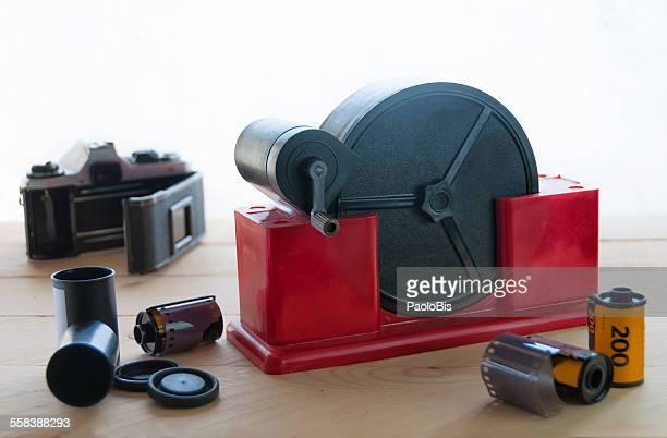 Film loader for negative 35mm