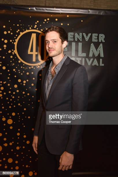 Film Maker and Director Cory Finley of the film Thoroughbreds on the red carpet at the 40th annual Denver Film Festival on November 3 2017 in Denver...