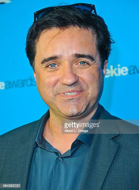 Film maker Christian Gossett arrives for the 3rd Annual Geekie Awards held at Club Nokia on October 15 2015 in Los Angeles California