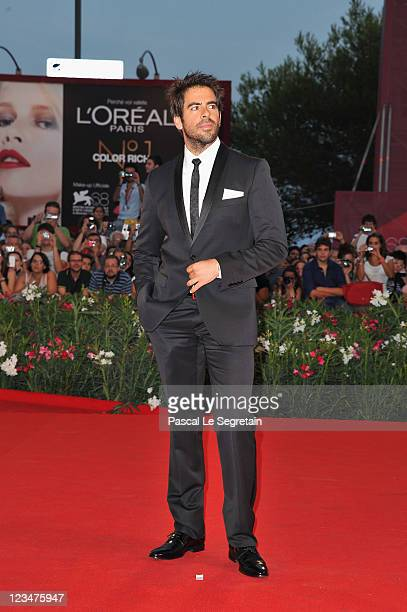 Film Maker Eli Roth attends the Contagion premiere during the 68th Venice Film Festival at Palazzo del Cinema on September 3 2011 in Venice Italy