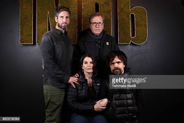 Film maker Mark Palansky and actor Martin Donovan actors Julia Ormond and Peter Dinklage of 'Rememory' attend The IMDb Studio featuring the Filmmaker...
