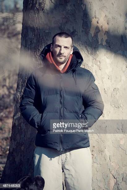 FRANCE FEBRUARY 2012 Film maker Mathieu Kassovitz is photographed for Paris Match on February 7 2012 in France