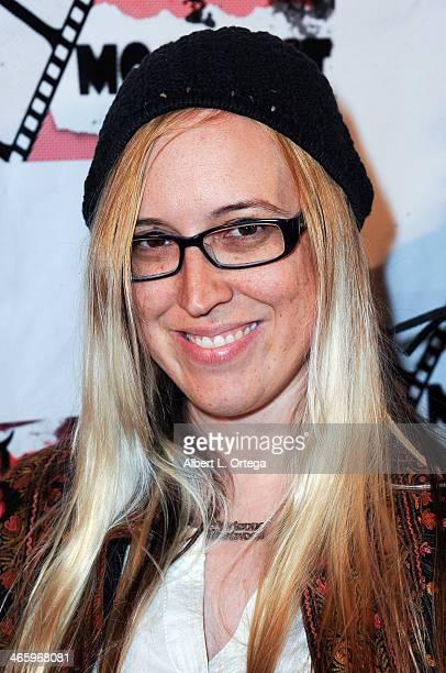 Film maker Sandy Stenzel attends the ShockFest Film Festival Awards held at Raleigh Studios on January 11 2014 in Los Angeles California