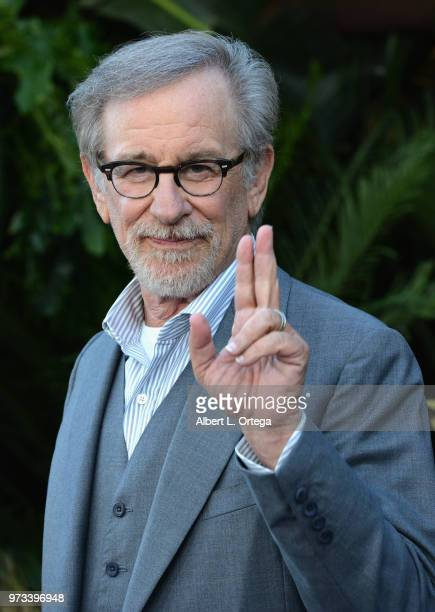 Film maker Steven Spielberg arrives for the Premiere Of Universal Pictures And Amblin Entertainment's Jurassic World Fallen Kingdom held at Walt...