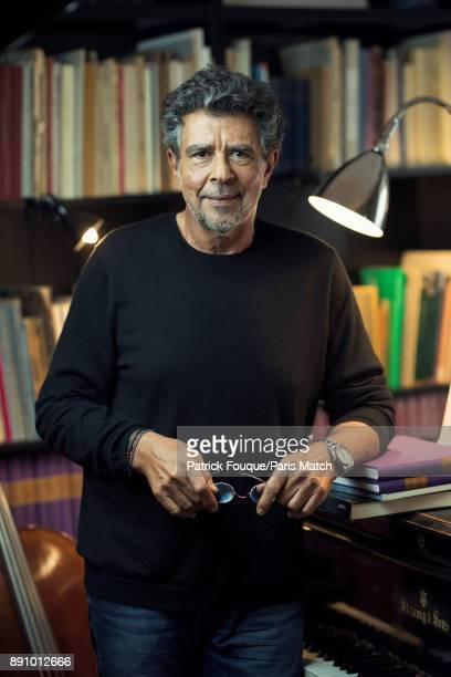 Film music composer Gabriel Yared is photographed for Paris Match on November 27 2017 in Paris France
