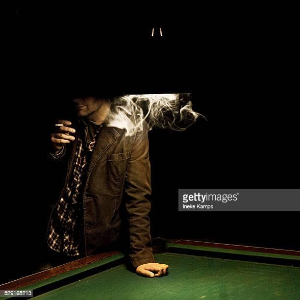 Film noir smoking man