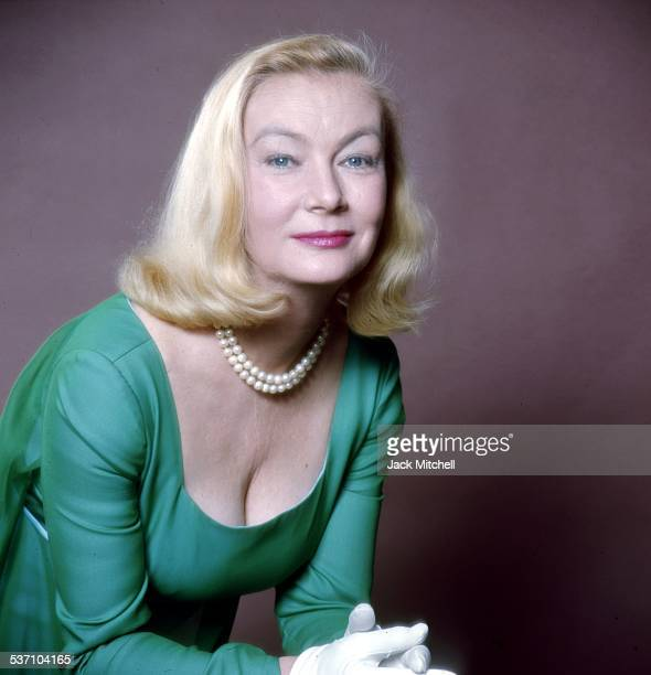 Film noir star of the 1940's Veronica Lake photographed in New York in 1966