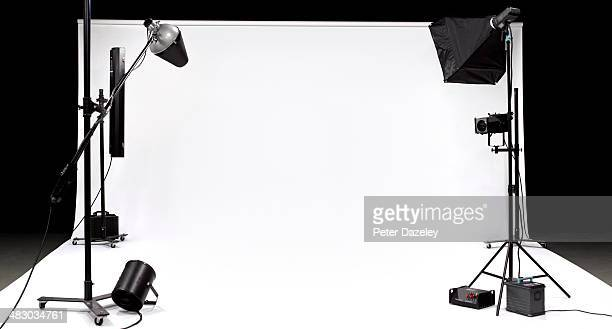 tv, film, photographic studio 1 - fotosession stock-fotos und bilder
