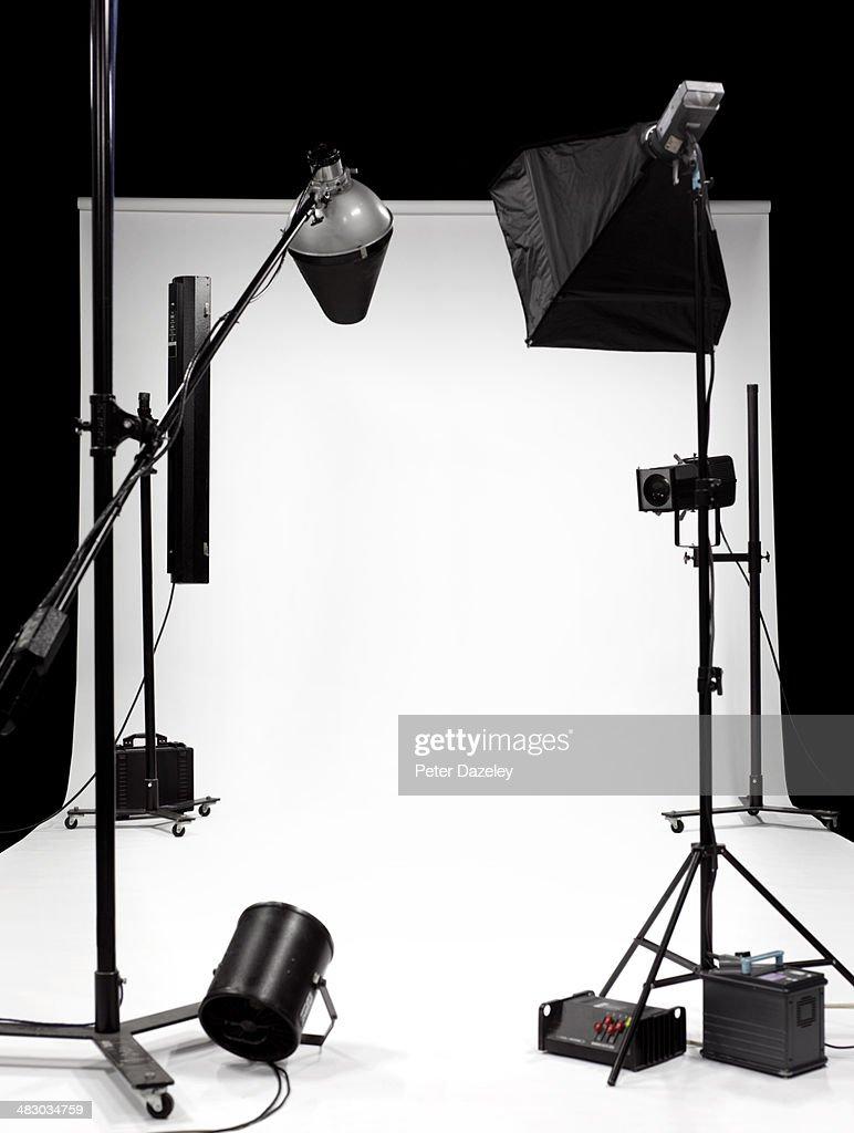 TV, film, photographic studio 2 : Stock-Foto
