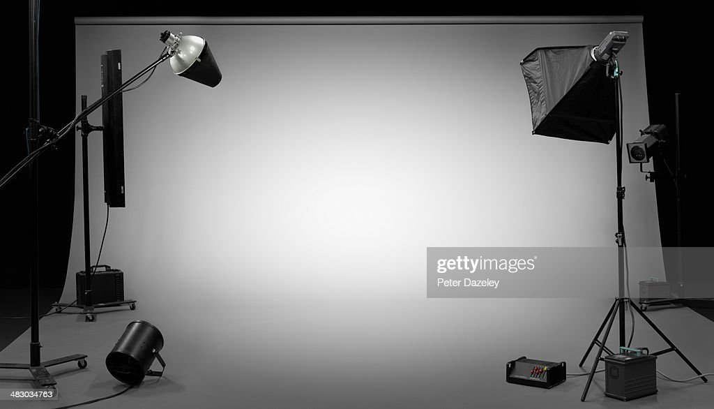 TV, film, photographic studio 3 : Foto de stock