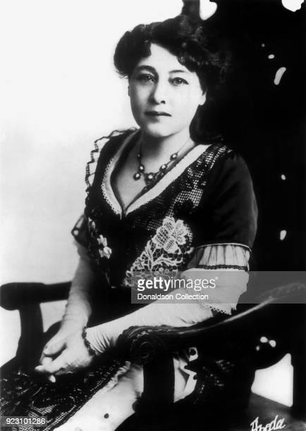 Film pioneer Alice GuyBlache poses for a portrait in circa 1913 in New York