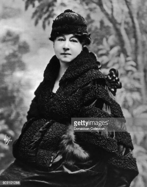 Film pioneer Alice GuyBlache poses for a portrait in circa 1917 in New York