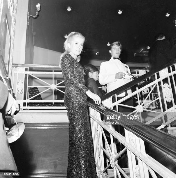 Film premiere Repulsion at the Rialto Cinema London Thursday 10th June 1965 Our picture shows Catherine Deneuve