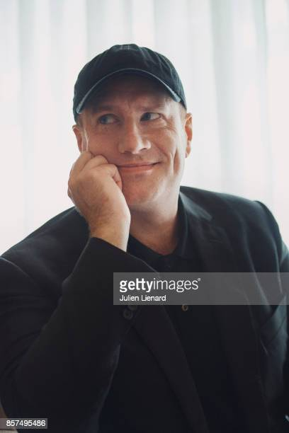 Film producer and president of Marvel Studios Kevin Feige is photographed for Self Assignment on June 22 2017 in Paris France