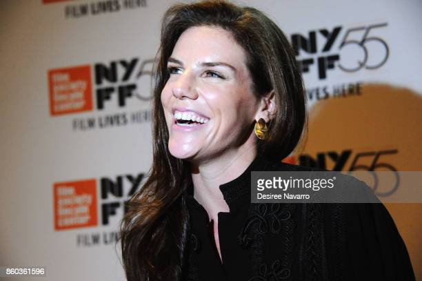 Film producer Annabelle Dunne attends the 55th New York Film Festival 'Joan Didion The Center Will Not Hold' at Alice Tully Hall on October 11 2017...