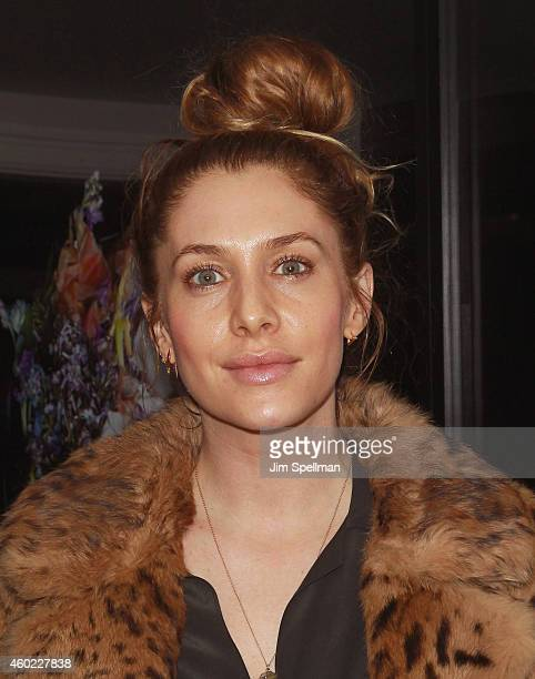 Film producer Casey LaBow attends the Cinema Society and Montblanc Special Screening Of Starz Digital's 'The Color Of Time' after party at Omar's on...