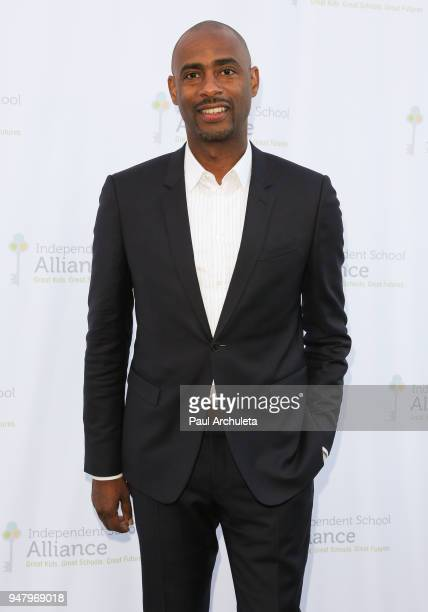 Film Producer Charles King attends the Independent School Alliance For Minority Affairs annual Impact Awards dinner at The Broad Stage on April 17...