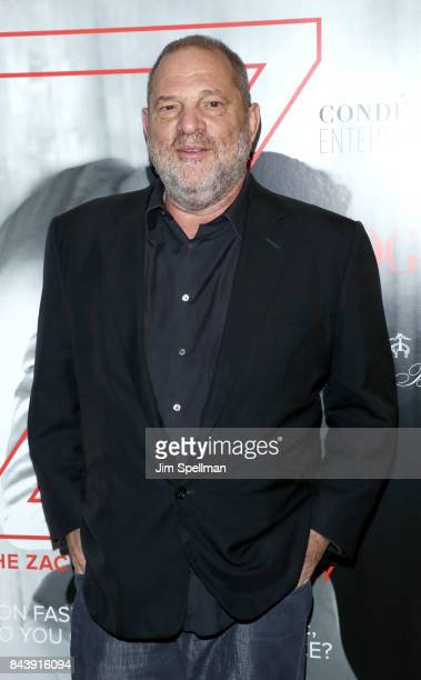 Film producer Harvey Weinstein attends the premiere of House of Z hosted by Brooks Brothers with The Cinema Society at Crosby Street Hotel on...
