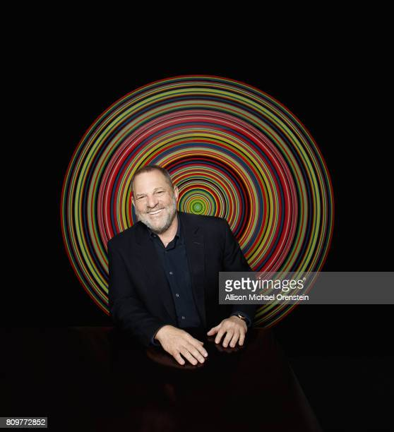 Film producer Harvey Weinstein is photographed for the Hollywood Reporter on March 27 2017 in New York City PUBLISHED IMAGE