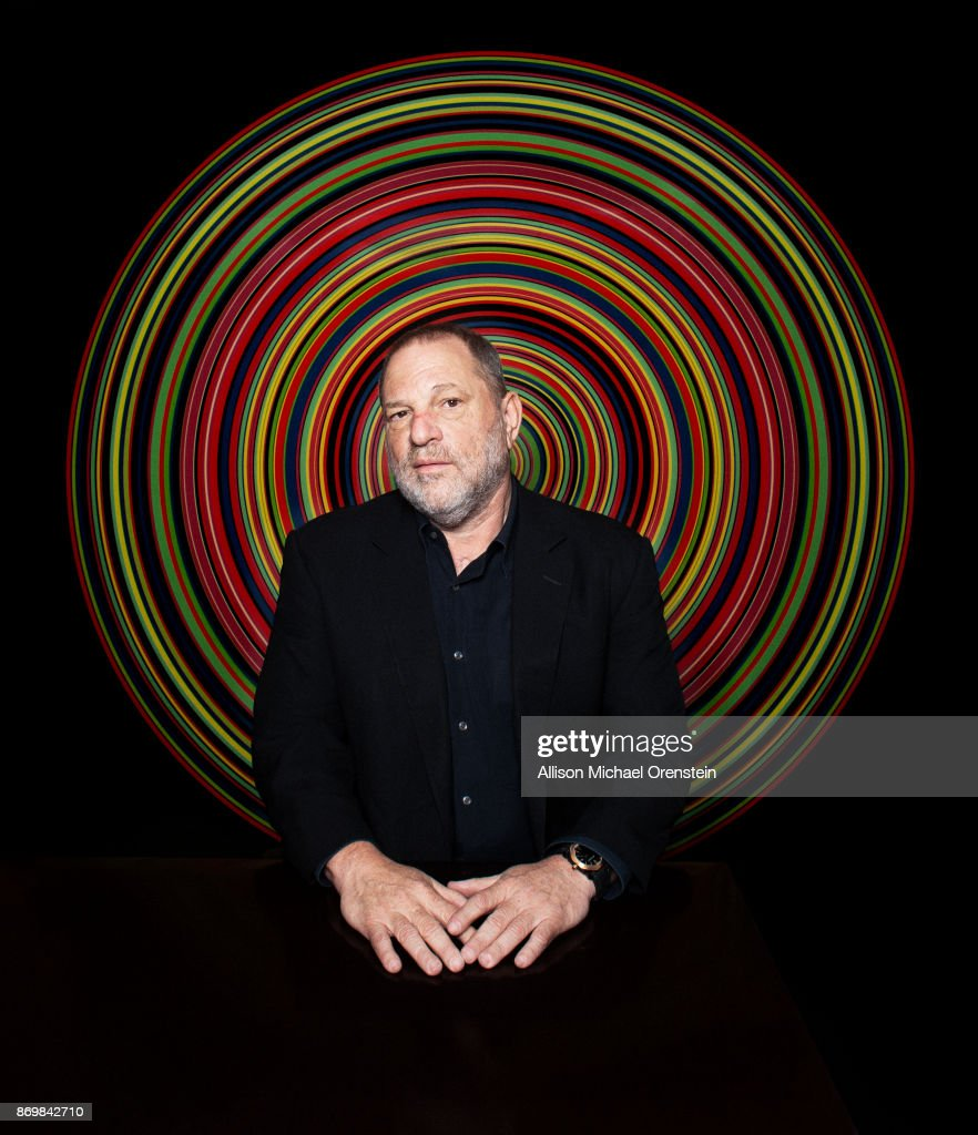 Film producer Harvey Weinstein is photographed for the Hollywood Reporter on March 27, 2017 in New York City.