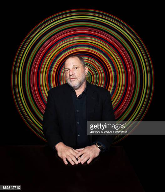 Film producer Harvey Weinstein is photographed for the Hollywood Reporter on March 27 2017 in New York City