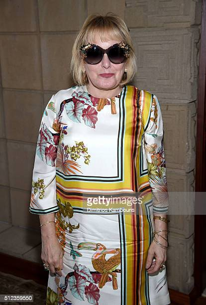 Film producer Hilary Shor attends MAC Cosmetics Zac Posen luncheon at the Ennis House hosted by Karen Buglisi Weiler Demi Moore Jacqui Getty on...