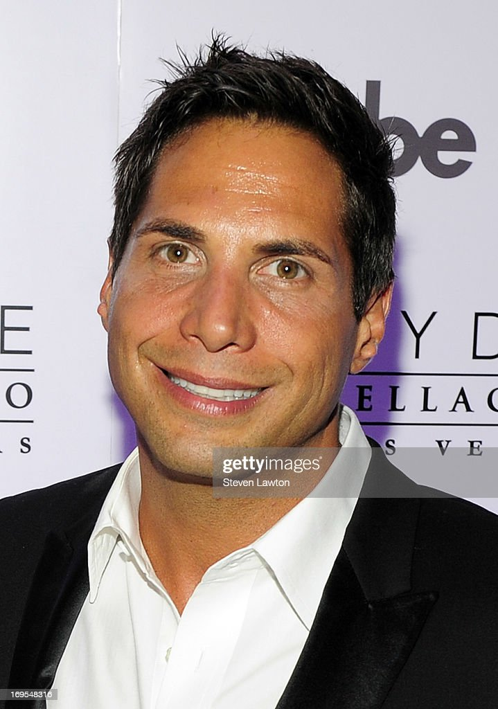 Film producer Joe Francis arrives at Scott Disick's 30th birthday bash at Hyde Bellagio at the Bellagio on May 26, 2013 in Las Vegas, Nevada.