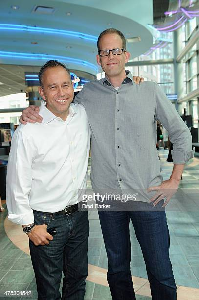 Film producer Jonas Rivera and writer/director Pete Docter attend Vulture Festival Presents Pixar screening of Inside Out and discussion with Pete...