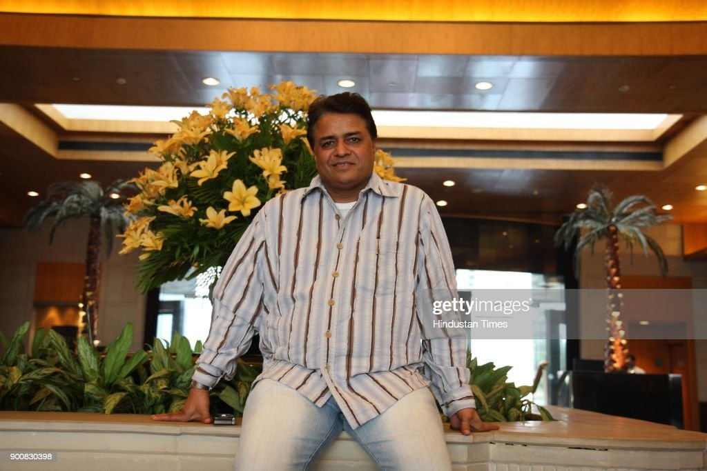 Film producer Kumar Mangat Pathak during the photoshoot at Grand Hotel on January 8, 2008 in New Delhi, India.
