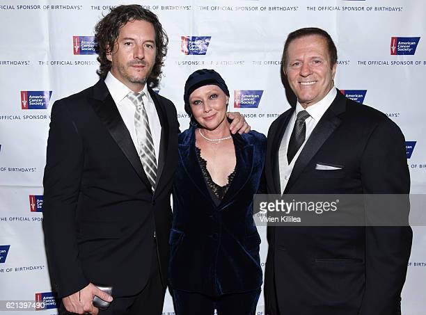 Film Producer Kurt Iswarienko actress Shannen Doherty and Executive Vice President and California Division Operating Officer for American Cancer...