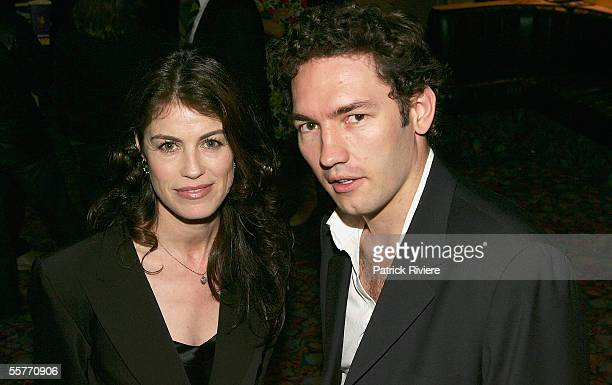 Film producer Michele Bennett and producer/editor Nash Edgerton attend the premiere of 'The Magician' at the Palace Academy on September 26 2005 in...
