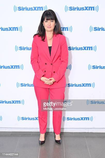 Film producer Pamela B Green visits SiriusXM Studios on April 22 2019 in New York City