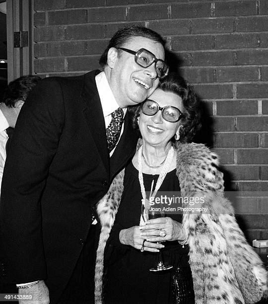 Film producer Ross Hunter and Nancy Sinatra Sr attend a showing of the television movie 'A Family Upside Down' which he coproduced at the Directors'...