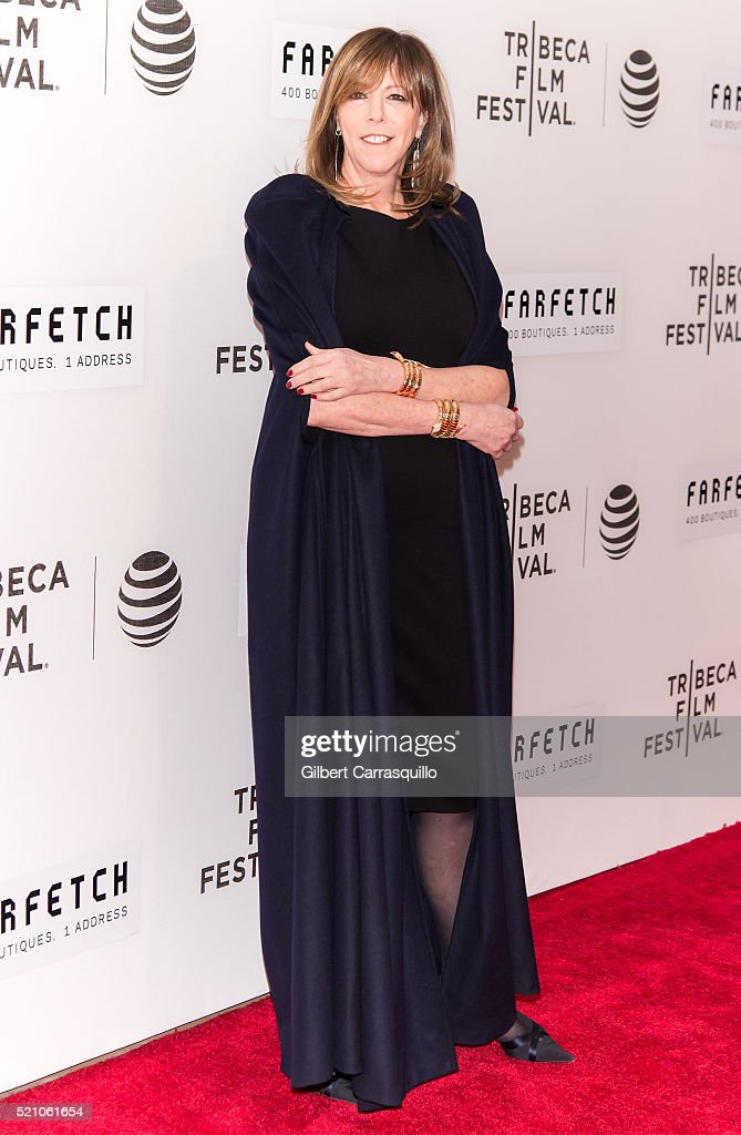 Film producer, Tribeca Film Festival Co-founder, Jane Rosenthal attends 'The First Monday In May' World Premiere during Opening Night of 2016 Tribeca Film Festival at John Zuccotti Theater at BMCC Tribeca Performing Arts Center on April 13, 2016 in New York City.