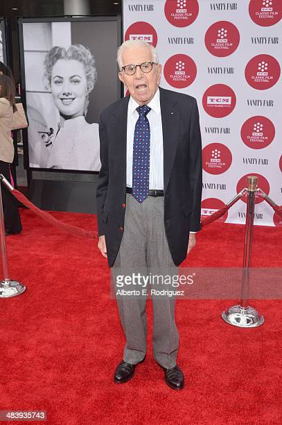Film producer Walter Mirisch attends the opening night gala screening of 'Oklahoma' during the 2014 TCM Classic Film Festival at TCL Chinese Theatre...