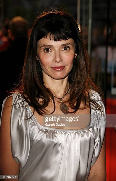 Film production designer and wife of actor Ewan McGregor Eve Mavrakis arrives at the world premiere of Miss Potter at Odeon Leicester Square on...