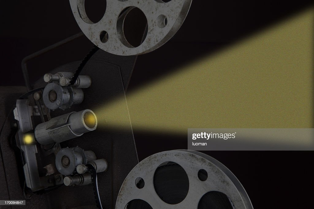 Film projection : Stock Photo