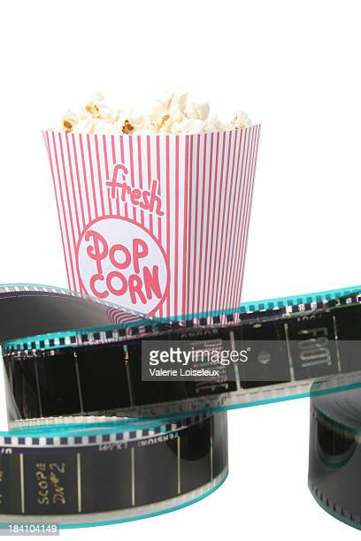 Film reel and Popcorn