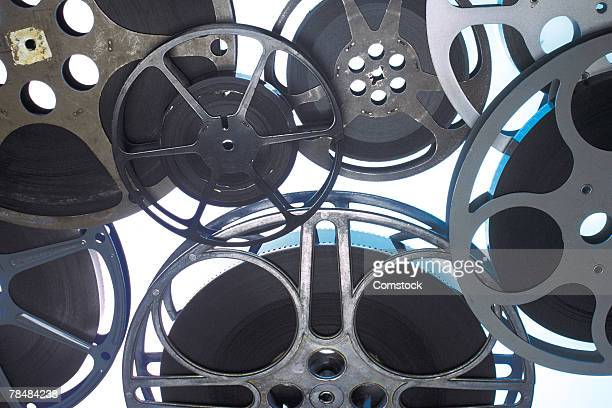 film reels - divergent film stock photos and pictures