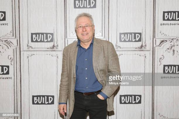 Film score composer Alan Menken visits Build to discuss the musical A Bronx Tale at Build Studio on May 16 2017 in New York City