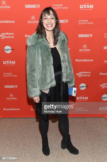 Film score composer Anne Nikitin attends the American Animals Premiere during the 2018 Sundance Film Festival at Eccles Center Theatre on January 19...